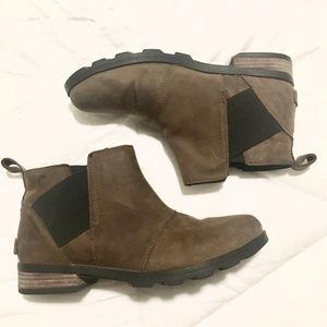 Sorel Emelie Chelsea Boots, Major/Black